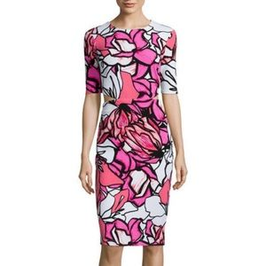 Bisoi Bisou | Pink flow dress with side cut outs